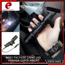Element Airsoft Aluminum Tactical SF M951 LED Version Super Bright Flashlight Weapon Lights with Remote Pressure Switch