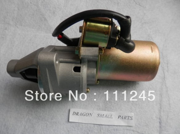 ELECTRIC STARTER MOTOR 12V 14T 0.4KW FOR HONDA GX340 GX390 GX420  E* EC EP6500 7500 5KW 6.5KW GENERATOR START PARTS 12v 4kw new starter motor for ford f e series tg228000 8420