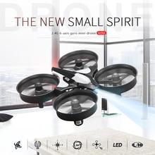 JJRC H36 Quadcopter Dron Un Retour Key Quadrocopter 2.4G 6 axe RC Hélicoptère Sans Tête Mode Profissional Helicoptero