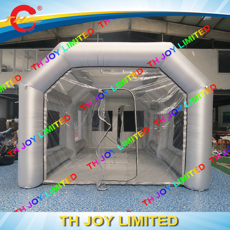 Free air ship to door 8x4x3m mobile inflatable - Interior door spray painting service ...