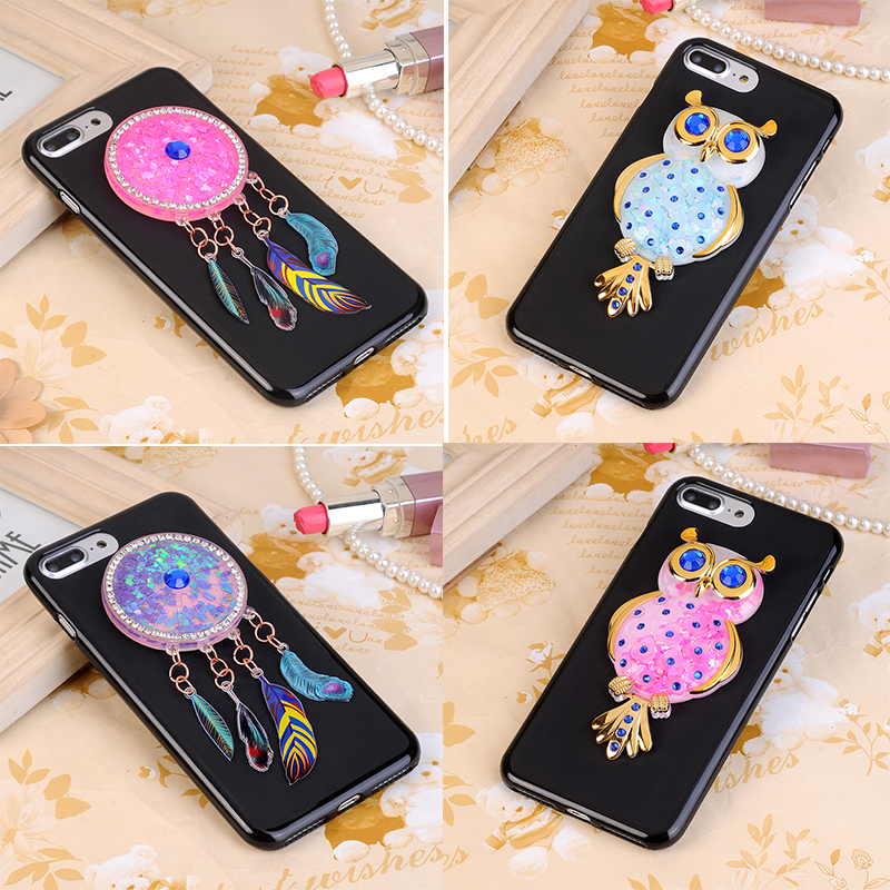 Lovely Mutouniao Moon Owl Luminous Tpu Soft Silicon Case Cover For Google Pixel Xl High Safety Half-wrapped Case Cellphones & Telecommunications