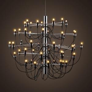 Image 4 - Nowoczesne żyrandole oświetlenie domu lampa wewnętrzna nabłyszczania de para cristal sala de janta żyrandol do jadalni salon sypialnia