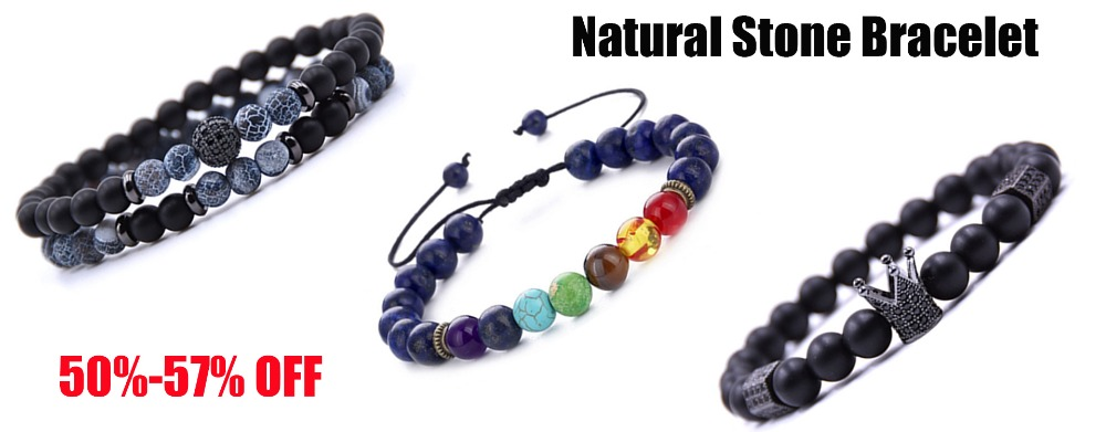 natural stone bracelet-