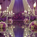 Titular Do Casamento da vela 5-braços candelabros De Cristal Peça Central Da Tabela Do casamento chumbo estrada adereços de Festa