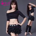 Bellydance B.u.w Brand Modal 2016 New Hot Sale Women Belly Dance Costumes Exercise Top+skirt Suits For Oriental Costumes8078