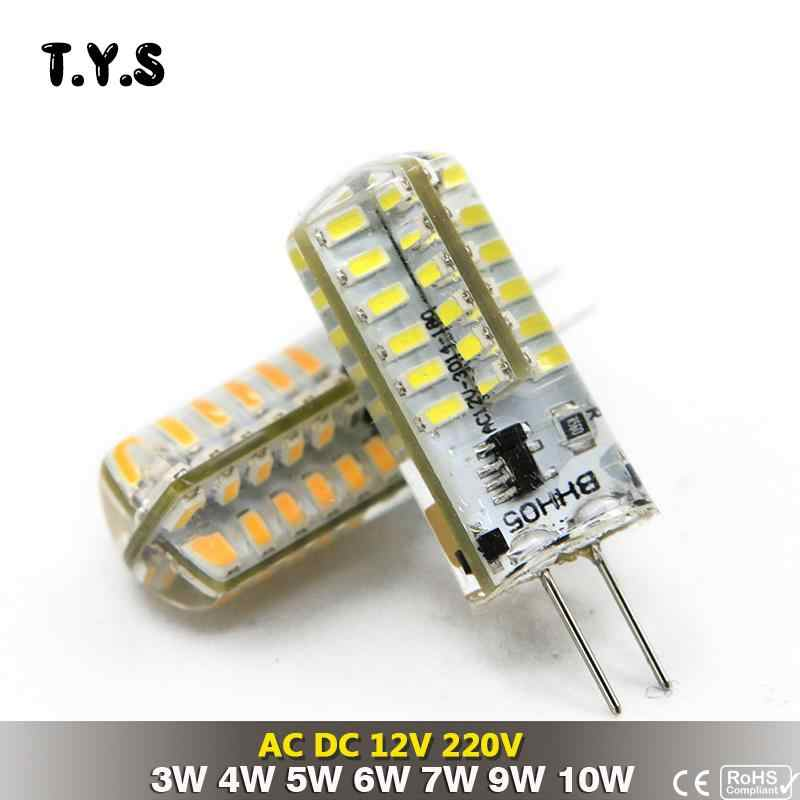 G4 LED Light Bulbs 12V AC/DC 3W 4W 5W 6W 7W 9W 10W 2835 3014 360 Beam Angle LED Spot Light Replace Halogen Cold/Warm White