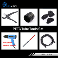 Bykski watercooler tools set Acrylic hard tube petg hard pipe bend cut set Hot Air Gun heating shrink tube thawing frozen pipes
