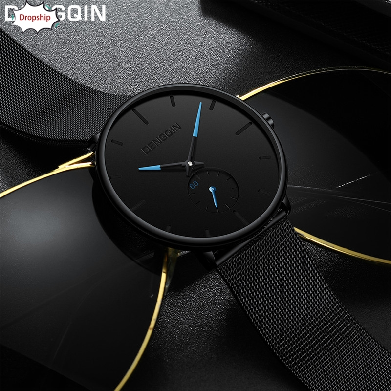 OTOKYMen Watch Dengqin Luxury Women Men Stainless Steel Watch Analog Quartz Bracelet Wrist Watch Business Watch DropShipingAug17 luxury men s women quartz watch business watch men women watch