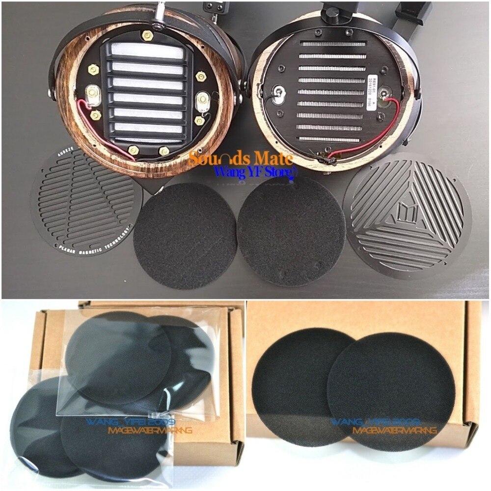 Мелкозвуковая губка для наушников, дисковые амбушюры для Audeze LCD 4 3 LCD2 X, губчатая подушка для наушников