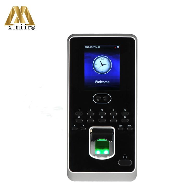 1500 Face User Fingerprint Reader Door Access Control System ZK Multibio800-H/Iface3 Biometric Access Controller