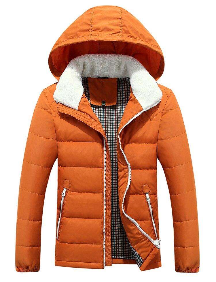 Winter Men s Jacket Thickening Casual Cotton Jacket Overcoat Windproof Waterproof Breathable Jacket Coat Parka Men