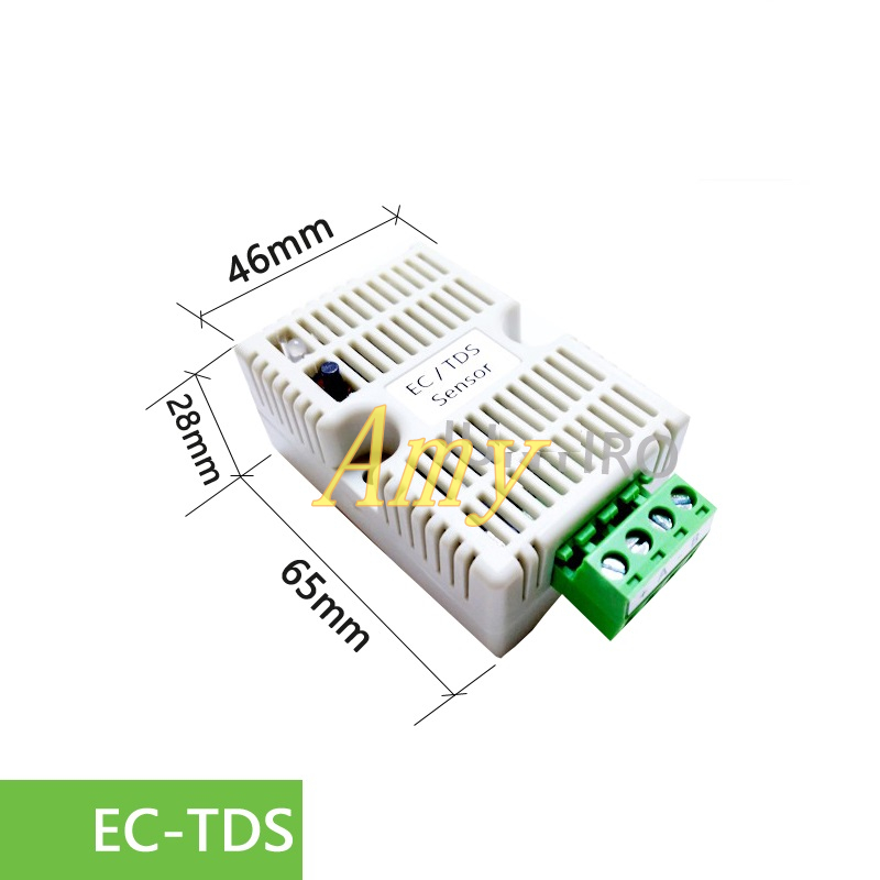 US $26 98 |EC transmitter TDS sensor module conductivity 4 20mA analog  voltage output RS485 output-in Sensors from Electronic Components &  Supplies on