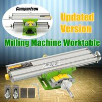 New 2 Axis Compound Cross Slide Working Table Adjustment X Y Milling Working Cross Table Bench Vise Drilling Table BG6330