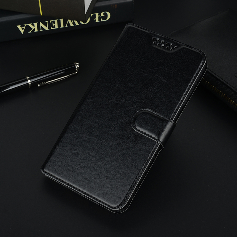 New! Luxury Book Wallet PU Leather Stand Card Holder Flip Case for Blu R1 HD Dash X2 Cover for Itel A11 P11 P12 phone case image