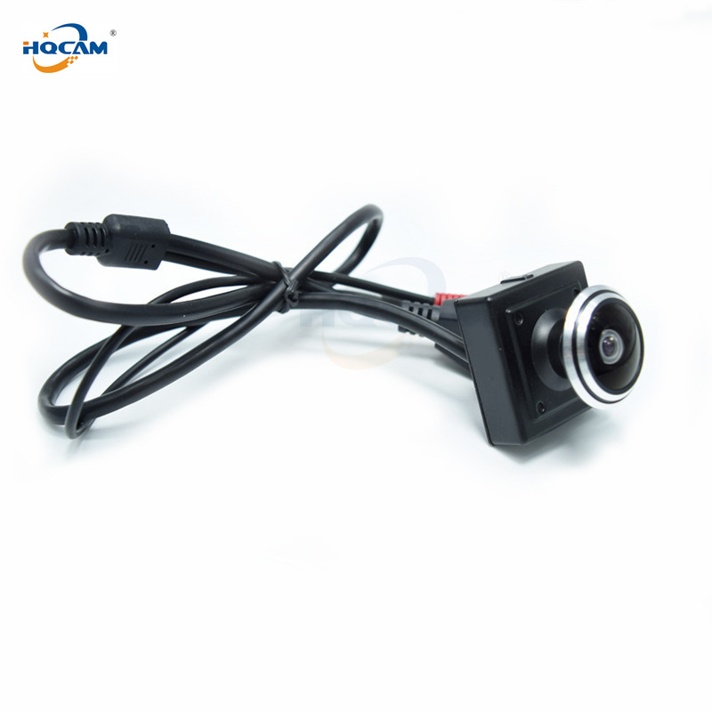 Image 4 - HQCAM 5/4/3/2/1.3/1MP Audio video camera MINI IP camera H.264 mic camera P2P network 1.78mm Fisheye Wide Angle Fisheye Lens-in Surveillance Cameras from Security & Protection