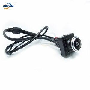 Image 4 - HQCAM 5/4/3/2/1.3/1MP Audio video camera MINI IP camera H.264 mic camera P2P network 1.78mm Fisheye Wide Angle Fisheye Lens