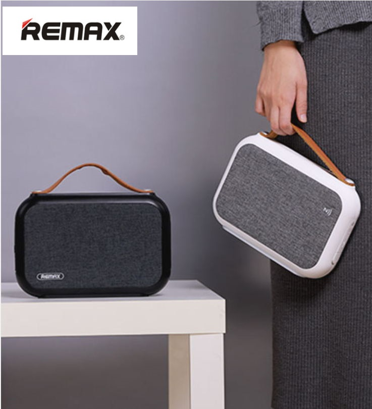 Remax Fiber Cloth Bluetooth Speaker Portable Hand-held Bluetooth 4.0 Speaker MP3 Player For Iphone Samusng Xiaomi Huawei LG /PC tronsmart element t6 mini bluetooth speaker portable wireless speaker with 360 degree stereo sound for ios android xiaomi player