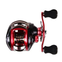 купить Battlesea 18*1BB Metal Baitcasting Fishing Reel 8.1:1 Long Shot Left / Right Hand Fishing Wheel Bait Casting Fishing Reel дешево