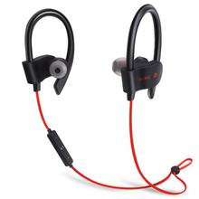 56S  Sports Sweat proof Stereo Earbuds Wireless Bluetooth Earphone Headset In-Ear Earphones With Mic For iPhone & Smartphone N syllable d300l sweat proof sports bluetooth earphones with mic