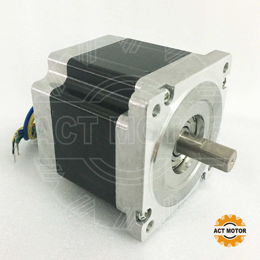 ACT Motor 1PC Nema34 Brushless DC Motor 86BLF04 48V 440W 3000RPM 3Phase Single Shaft US DE UK JP FreeACT Motor 1PC Nema34 Brushless DC Motor 86BLF04 48V 440W 3000RPM 3Phase Single Shaft US DE UK JP Free