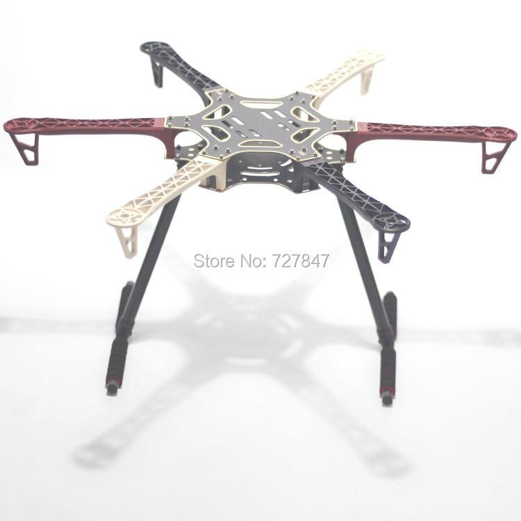 F550 550mm Hexa Rotor Air Frame FlameWheel Kit Mit Carbon Fahrwerk für KK MK MWC MultiCopter hexacopter-in Teile & Zubehör aus Spielzeug und Hobbys bei  Gruppe 1