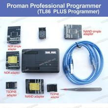 Free shipping NAND ProMan Professional nand flash programmer/NAND NOR TSOP48 FLASH programmer TL86 PLUS programmer
