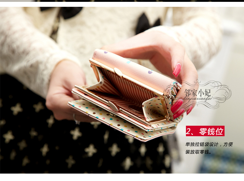 2016 new short wallet women purses cute young girl purse best gift ... df8a41ed71be2