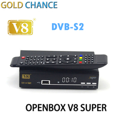 V8 Super HD Satellite Receiver With DVB-S2 Tuner V8 Super Combo Support USB WiFi 3G by china post