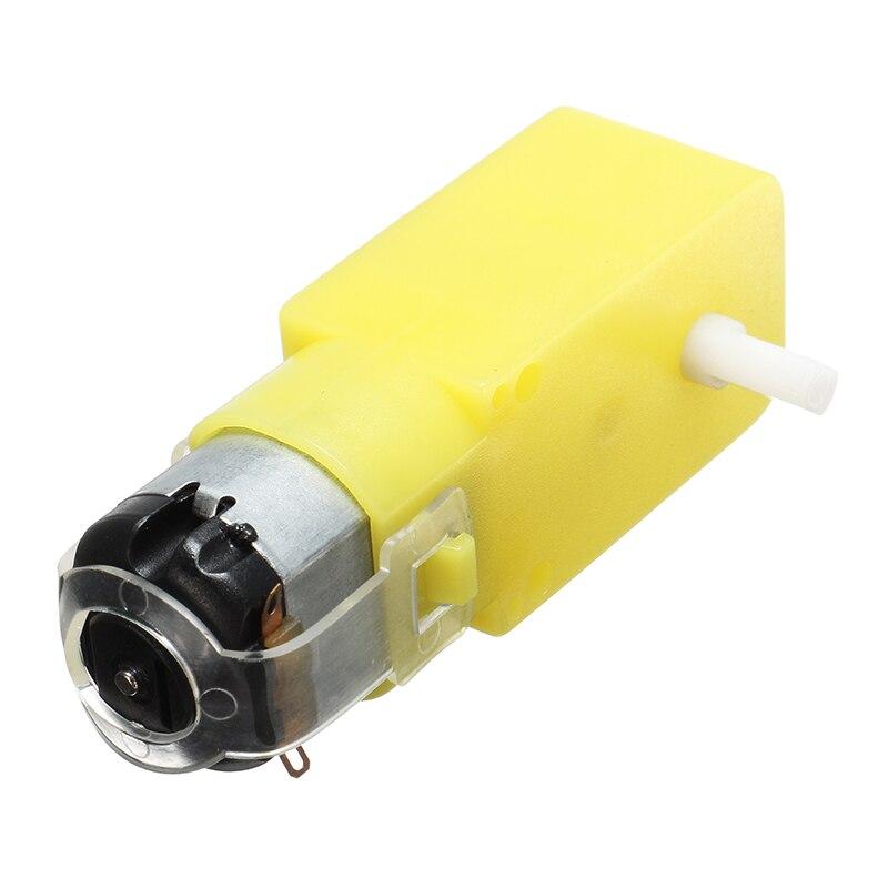 DC 3 V-6 V одноосный редуктор мотор для arduino DIY умный автомобиль робот