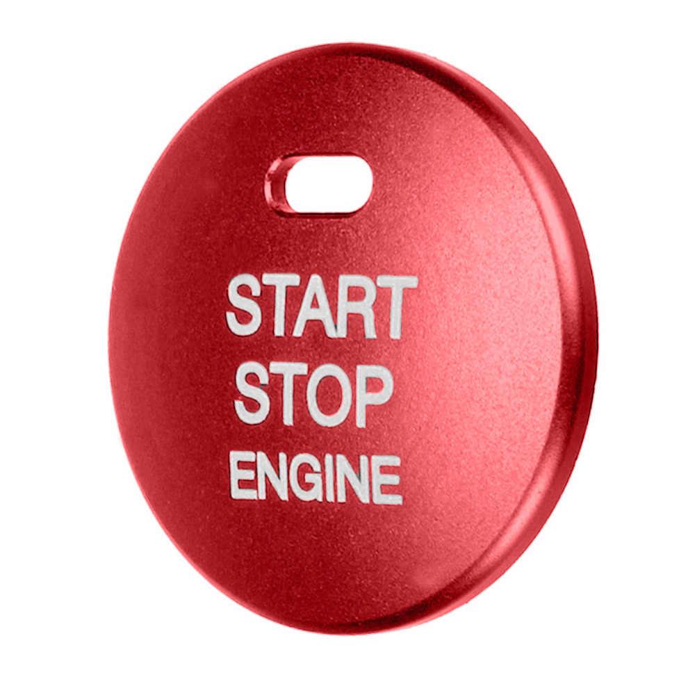Alluminio Auto Arresto di Inizio del Motore Push Button Switch Sostituire Copertura Trim Cap Sticker per Mazda 3 Axela CX-3 CX-4 CX-5 strumenti per lo styling