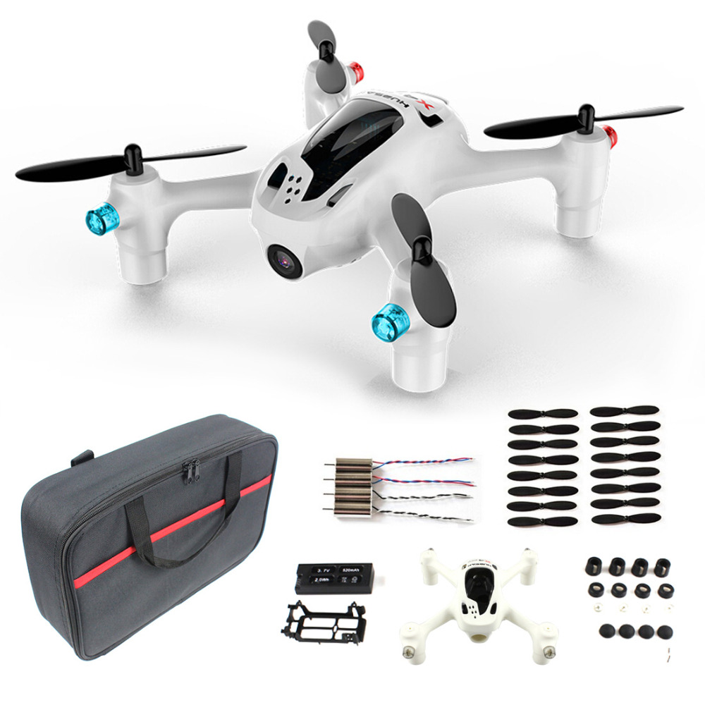 Hubsan FPV X4 Plus H107D+ with 720P HD Camera RC Quadcopter RTF H107D Plus Drone With Carry Bag Blades Extra Battery F16767-ABCD get an extra battery original hubsan fpv x4 plus h107d with 720p hd camera 6 axis gyro rc quadcopter rtf in stock