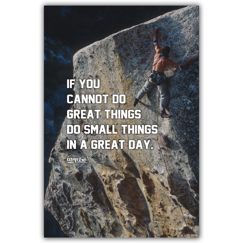 Us 8 15 32 Off Motivational Fitness Running Rock Climbing Poster Wall Canvas Painting Wall Art Painting Home Decor Painting By Numbers In Painting