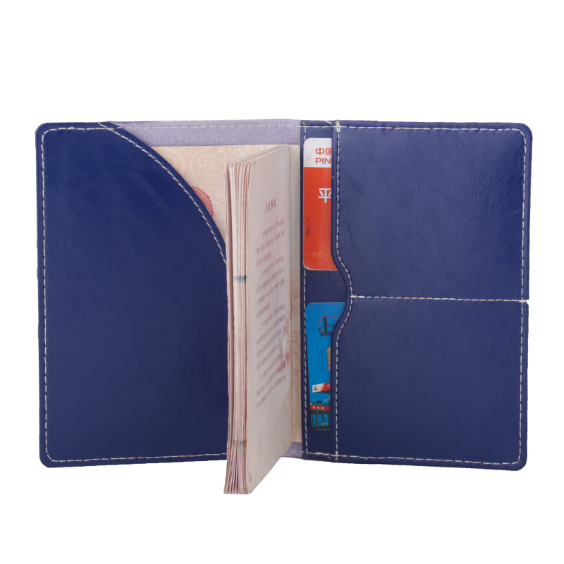 Card & Id Holders Women Lovely Oil Wax Microfiber Synthetic Leather Passport Card Holder Cover Elegant Bags Passport Cover customize Available Coin Purses & Holders
