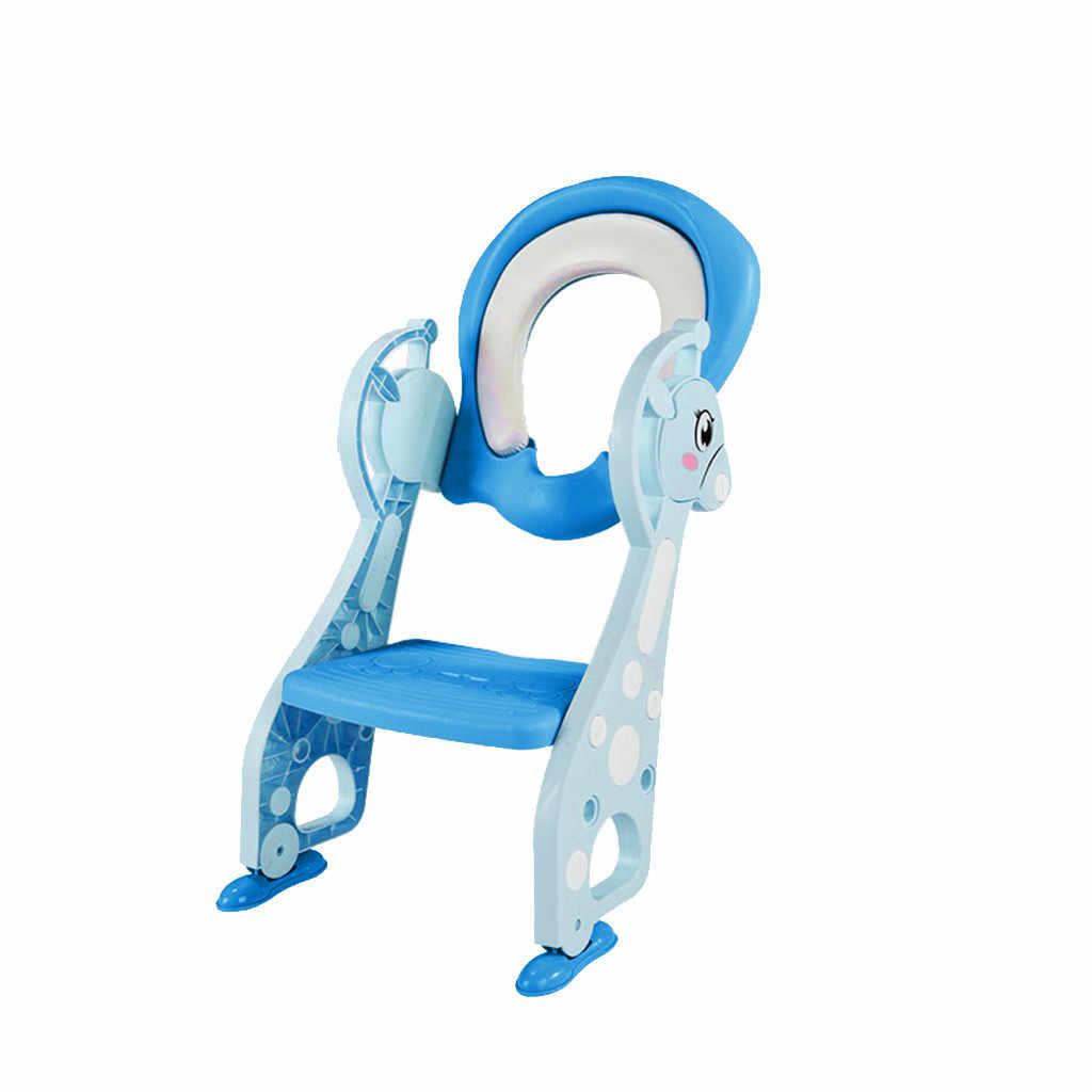Детское сиденье для унитаза talheres дети портативный олень унитаз ребенка на открытом воздухе путешествия горшок складной стул детский горшок сиденье