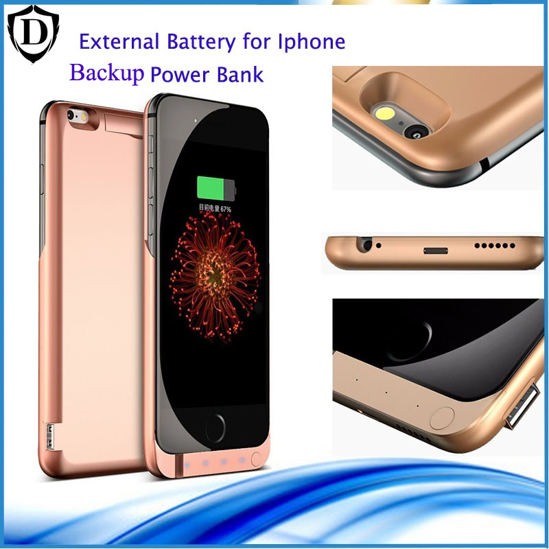 Wireless easy and quick 10000mAh Backup power bank for iPhone 6 6s 6sp 7 7 plus