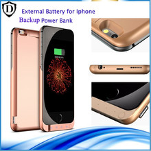 Wireless ,easy and quick 10000mAh Backup power bank for iPhone 6 /6s/6sp/ 7/ 7 plus Rechargeable External Battery  Power case
