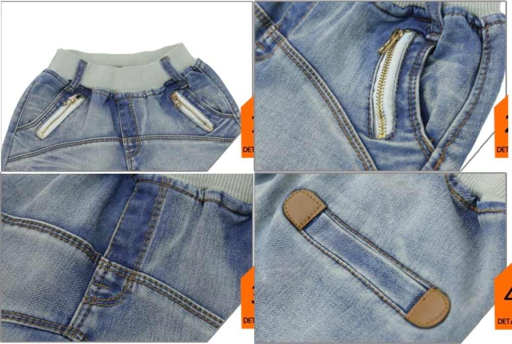 991ae224aa8e4 ... Boys pants 2019 new autumn kids clothing big boys jeans doll cotton  trousers baby children harem