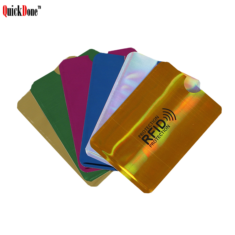 Id-Card Case Pouch Anti-Scan Privacy-Protection Rfid Blocker NFC Quickdone Storage-Bag