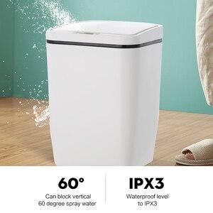 Image 3 - Automatyczny bezdotykowy inteligentny czujnik ruchu indukcyjnego kuchenny kubeł na śmieci szeroki czujnik otwarcia ekologiczny kosz na śmieci