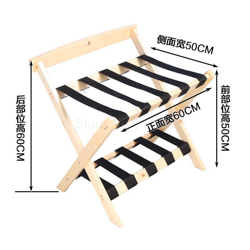 Мебель для отеля, твердый деревянный багажный стеллаж, гостиничная Детская футболка с рисунком, домашний складной стеллаж для гостиной - Цвет: VIP 6