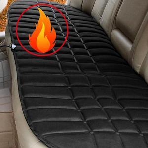Image 1 - Coussin de siège chauffant de voiture 12V, coussin chauffant pour siège arrière électrique. Coussin de siège qui garde au chaud pour lhiver