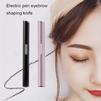 Women Portable Size Electric Eyebrow Trimmer Lady Shaver Legs Eyebrow Shaper Trimmer Mini Hair Remover Tool