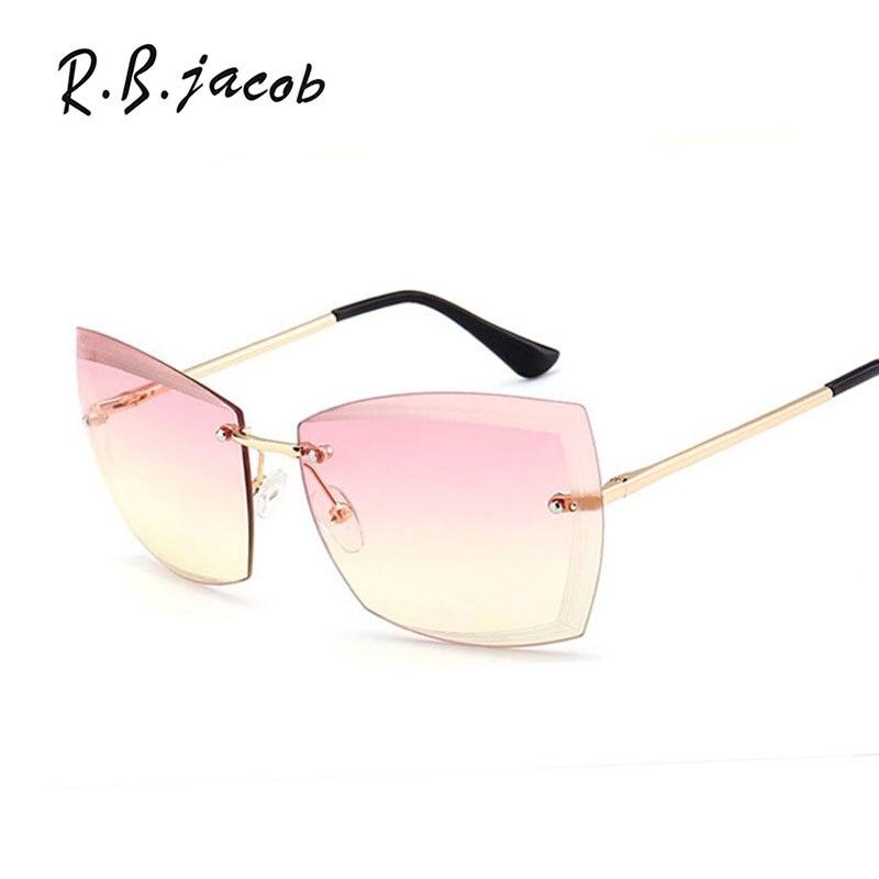 Damen Qualität Designer Promi Mode Damen Katzenaugen Sonnenbrille