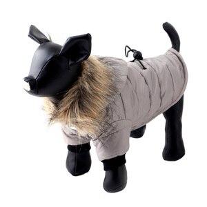 Image 5 - Pawstrip XS XL ciepłe małe ubrania dla psa zimowy płaszcz dla psa kurtka stroje dla szczeniąt dla Chihuahua Yorkie pies zimowe ubrania ubrania dla zwierząt