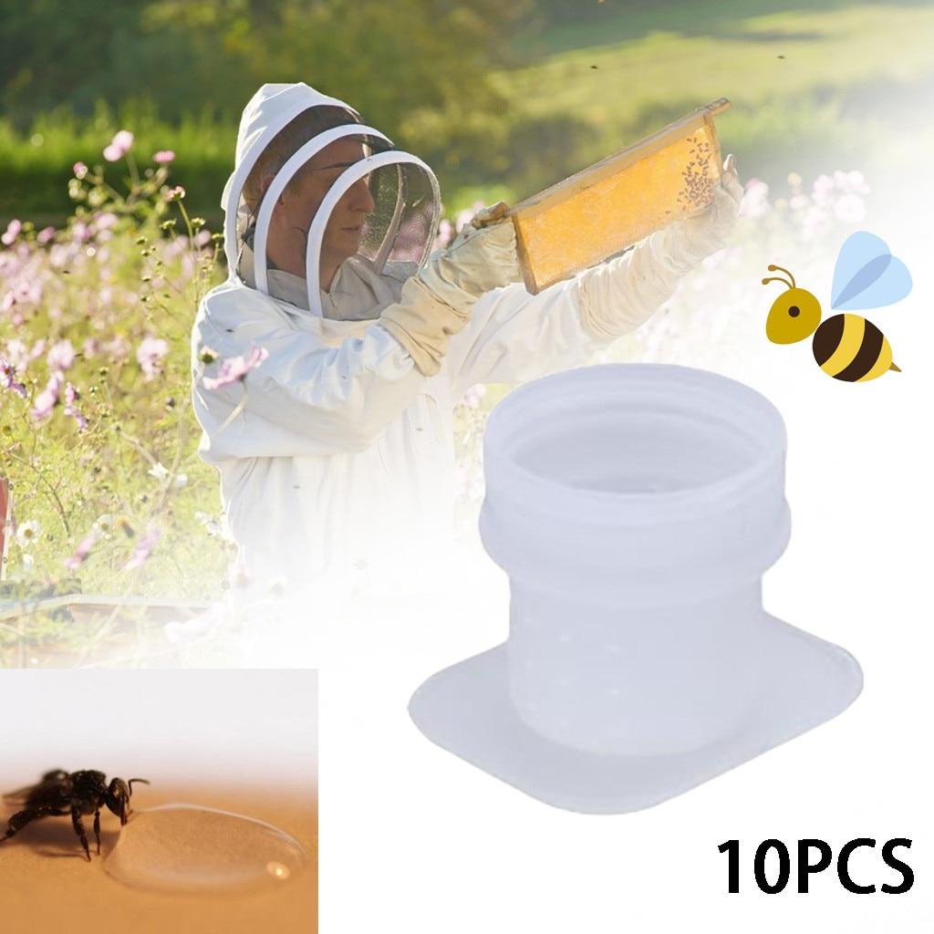 50 PCS Beekeeping Rearing Cup Kit Queen Bee Cages Beekeeper Equipment Tools HG