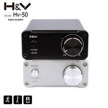 2016 Yeni AYAK F1 TDA7492 Profesyonel Hifi Ses Stereo Dijital Güç Amplifikatörü 50Wx2 24 V Mini Ev amp d Sınıfı amplifikatör