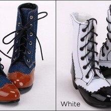 1/3 1/4 женская обувь SD AOD DOD BJD MSD Dollfie из синтетического полиуретана ботинки YG360