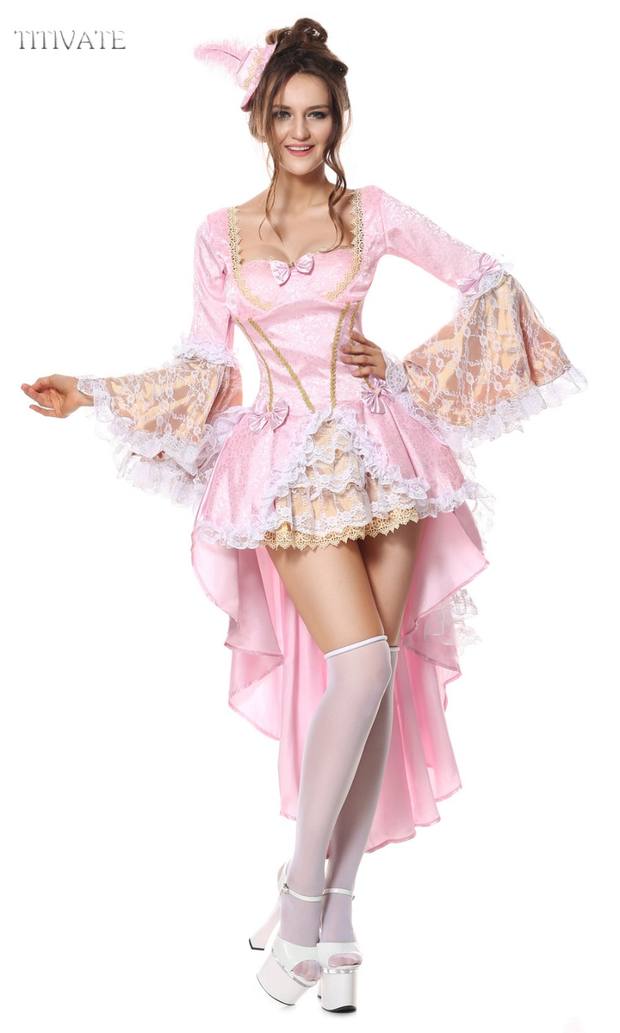 titivate deluxe queen princess costume halloween hen party carnival