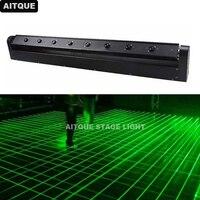 4pcs/lot professional stage equipment DJ lights LED Laser Bar Light 8 Eyes laser lights dmx moving head laser lights