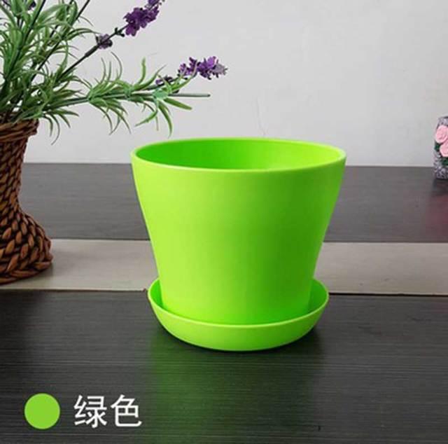 aliexpress: comprar verde grande de plástico maceta para la